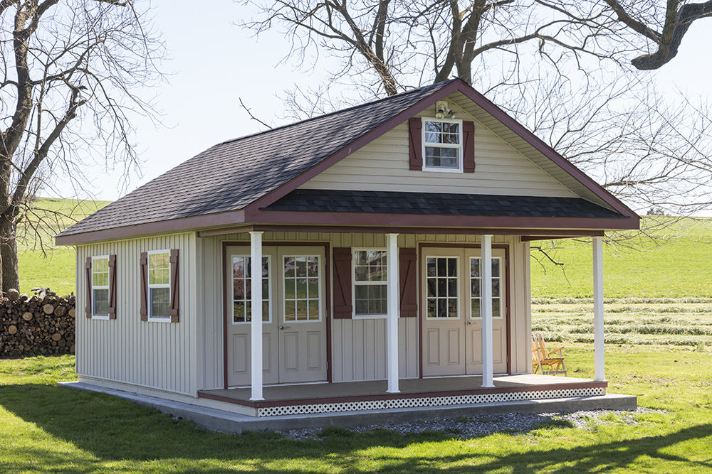 schoolhouse shed