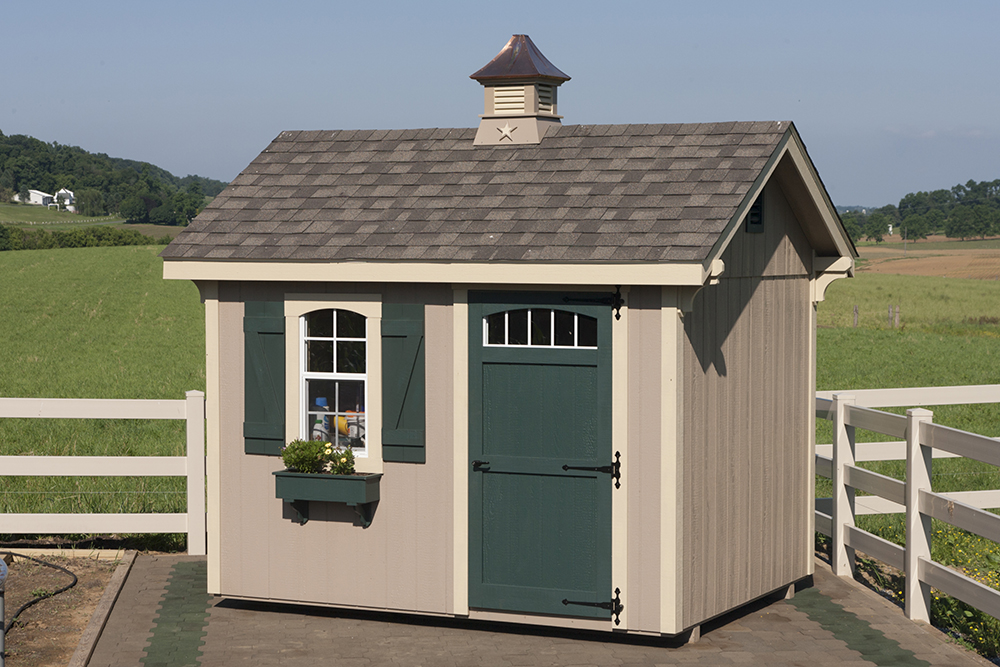 small aframe shed